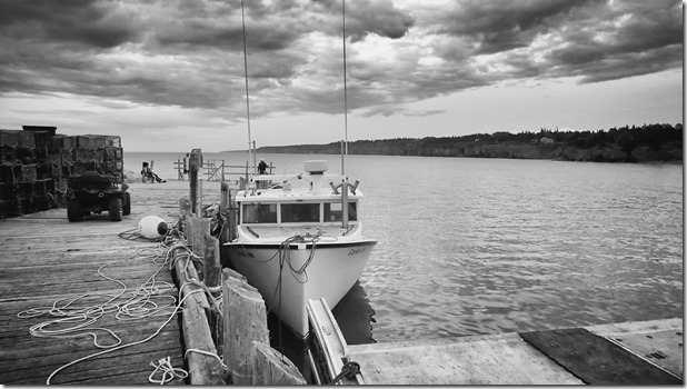 The fishing boat Carrie Lee in Margaretsville