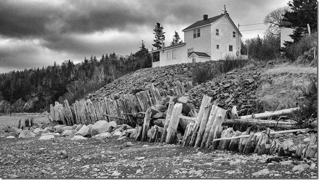 ocean,beach,Bay of Fundy,winter,Nova Scotia,French Cross,Morden